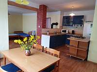 Kuchyň - chalupa ubytování Svobodné Hamry