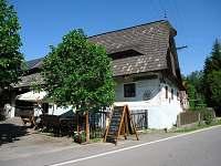 Staročeská roubená hospoda ve Sv. Hamrech - chalupa k pronajmutí Svobodné Hamry