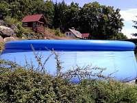 Bazén 4,60m - chalupa k pronajmutí Chlívce