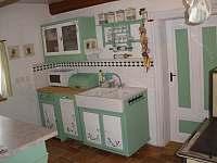 Kuchyně - pronájem chalupy Stárkov - Bystré