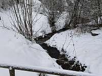 Potůček v zimě - Stárkov - Bystré
