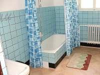 koupelna - pronájem chalupy Žďárky