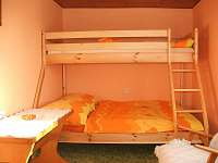 ložnice č.3 - chalupa k pronajmutí Žďárky