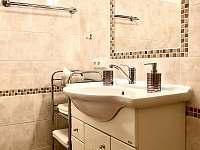 Apartmán I - koupelna - chalupa k pronájmu Zlíč
