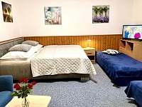 Apartmán I - ložnice - pronájem chalupy Zlíč