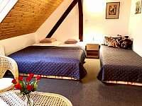 Apartmán II - ložnice se 3 lůžky - Zlíč