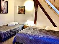 Apartmán II - ložnice se 3 lůžky a přistýlkou - Zlíč