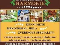 Rodinné pohostinství a penzion Harmonie - penzion - 26 Horní Maršov