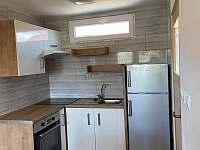 kuchyně - apartmán k pronajmutí Lohenice u Přelouče