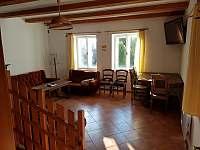 Společenská místnost - chalupa ubytování Seč - Hoješín