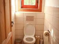 WC - chalupa k pronájmu Velké Petrovice