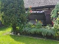 Zahrada - chalupa k pronájmu Opočno