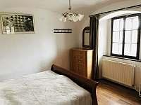 malá ložnice v přízemí 2 lůžka - Vernéřovice