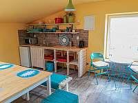 Kuchyňka - apartmán ubytování Libečov