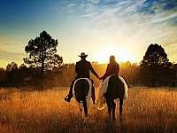 Možnost vyjížděk na koni pro jednotlivce i skupiny - apartmán k pronajmutí Libečov