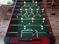 Multifunkční hrací stůl - pronájem chaty Seč