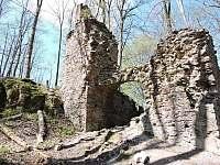 Zřícenina hradu Oheb - Seč