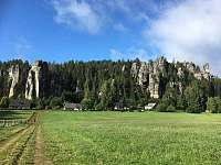 Cesta ke skalám - Adršpach
