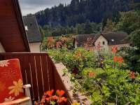 Výhled balkon 1 - Adršpach