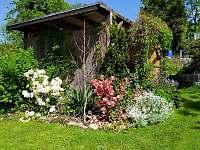 pergola na zahradě - Hronov