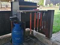Plynový gril - Cidlina