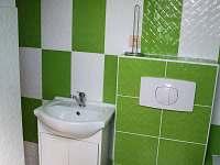 Koupelna s WC - chalupa k pronájmu Heřmánkovice - Janovičky