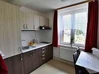 jednopokojový apartmán - kuchyňský kout