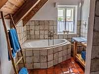 Koupelna č. 1 - chalupa k pronájmu Vysočina - Rváčov