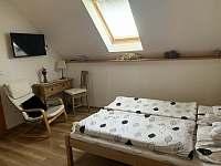 ložnice Apartmán 2 - rekreační dům k pronajmutí Úpice-Radeč