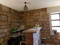 společenská místnost Apartmán 2-bar - Úpice-Radeč