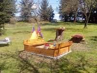dětské hřiště - chalupa k pronajmutí Olešnice u Červeného Kostelce