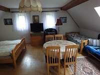 ložnice - pronájem chalupy Olešnice u Červeného Kostelce