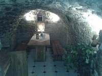 sklípek - chalupa ubytování Olešnice u Červeného Kostelce