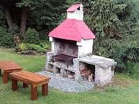 zahrada - chalupa k pronájmu Olešnice u Červeného Kostelce