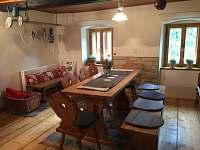 Kuchyň - chata k pronajmutí Rybná nad Zdobnicí