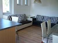 Apartmán 1 - obývací část - pronájem Hronov - Velký Dřevíč