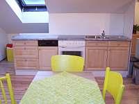 Apartmán 2 - kuchyň - pronájem Hronov - Velký Dřevíč