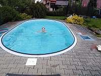 Bazén - apartmán k pronájmu Hronov - Velký Dřevíč