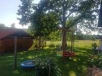 dětské hřiště,houpačky,skluzavka,malá trampolína