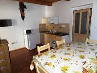 apartmán 1 - kuchyňka