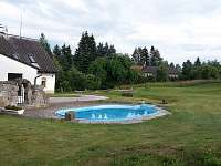 venkovní bazén - Horní Dřevíč