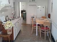 kuchyň s jídelnou - apartmán k pronajmutí Luže