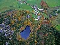 Letecký snímek ( v kroužku Chalupa Relax)