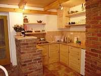 Podkrovní apartmán B - kuchyň