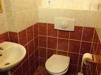 Podkrovní apartmán B - WC