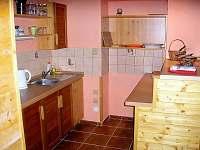 Podkrovní apartmán C - kuchyň
