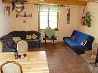 Přízemní apartmán A - obývací pokoj