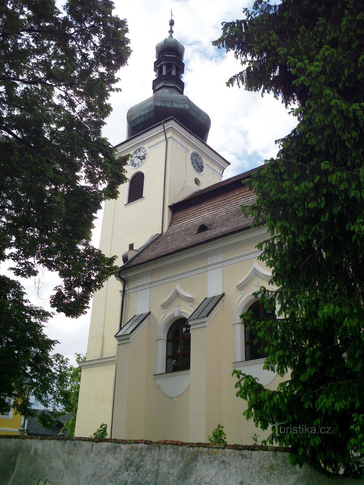 Buchlovice - kostel sv. Martina