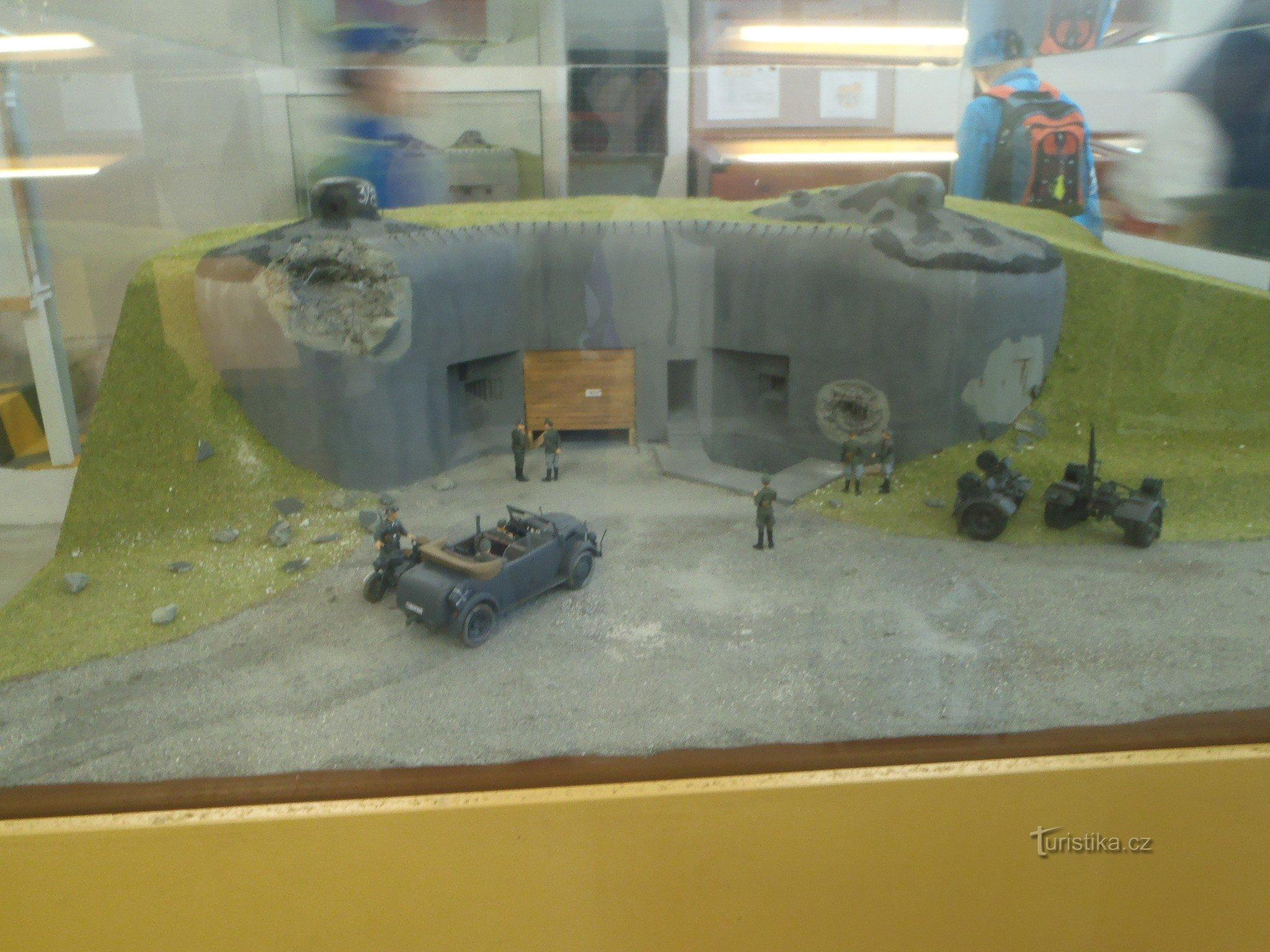 Hanička, prvorepubliková pevnost