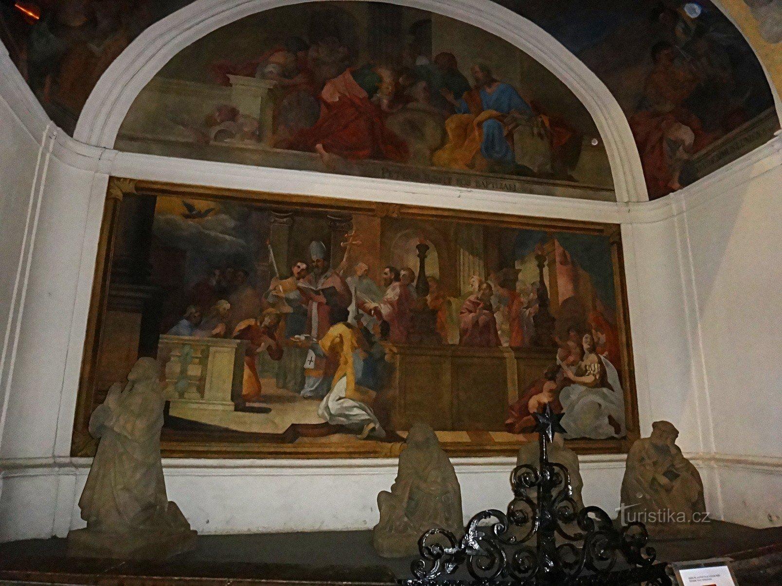 Olomouc kostel sv. Mořice